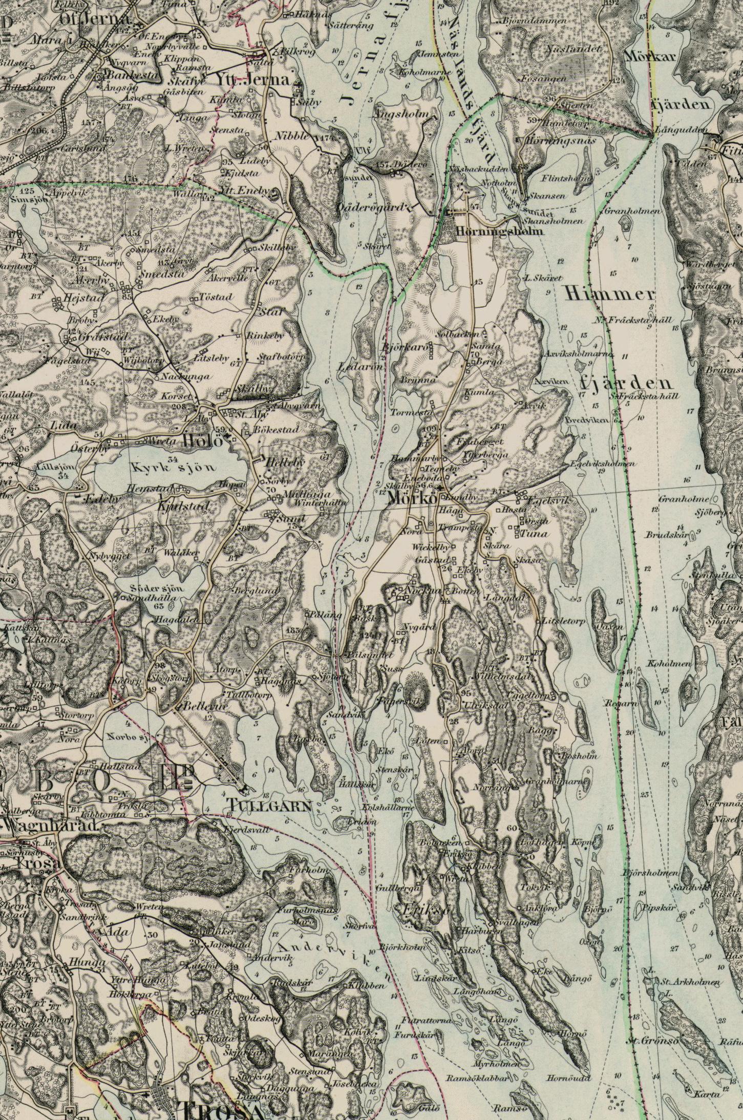mörkö karta Kartor | Hölö Mörkö Hembygdsförening mörkö karta